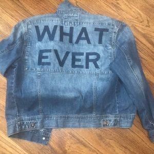 Denim whatever jacket